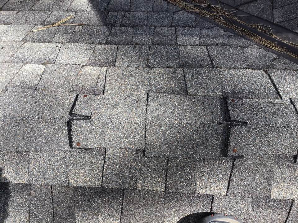 Sisters, OR - Tearing off and re-installing new ridge cap shingles using gaf timberline