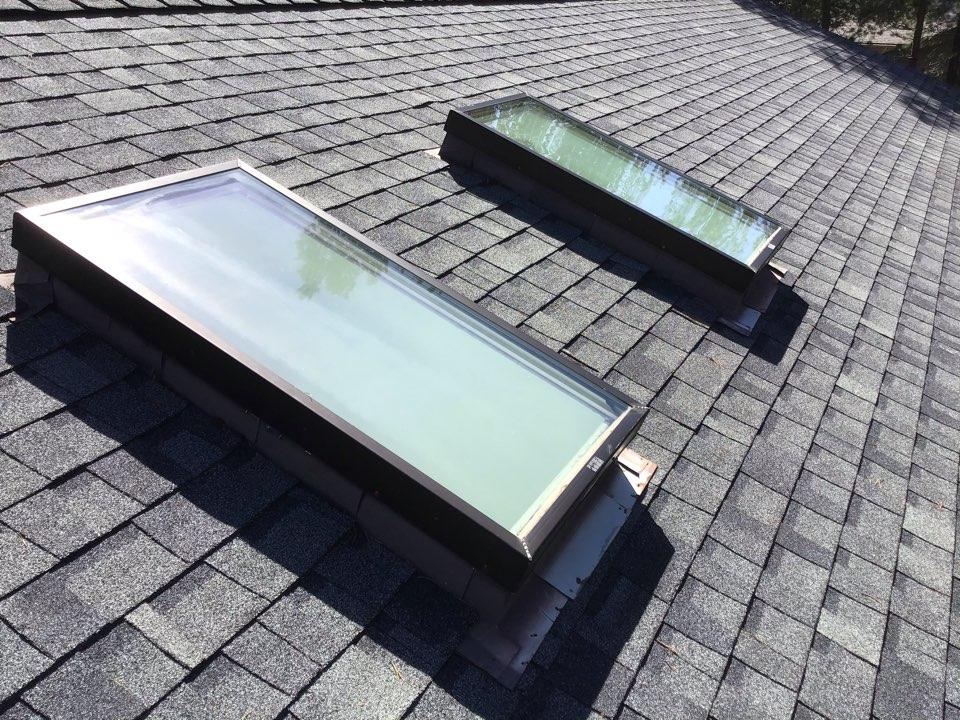 Sunriver, OR - Installing two new Velux skylights