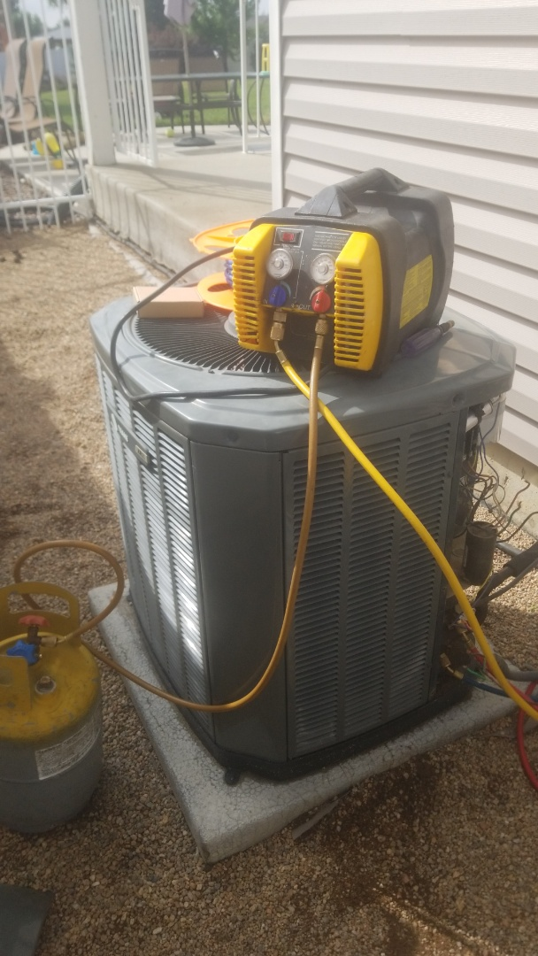 Frederick, CO - Replacement air conditioner from Trane xr11 to Trane two stage xr AC