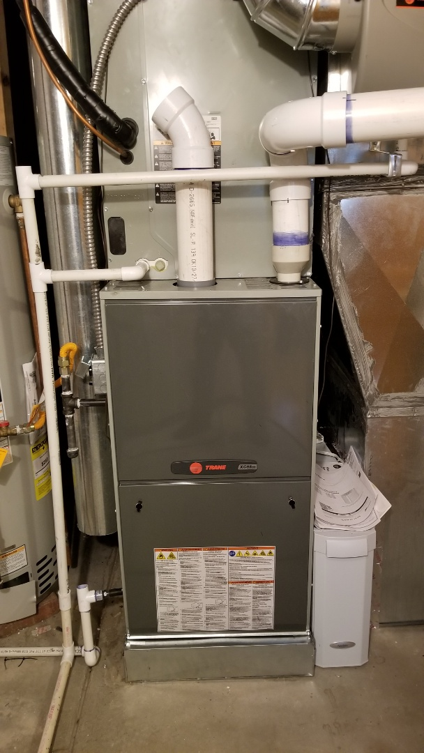 Lafayette, CO - Installation call. Installed Trane furnace and air conditioner