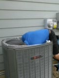 Lafayette, CO - Performed AC panel replacement on Trane unit