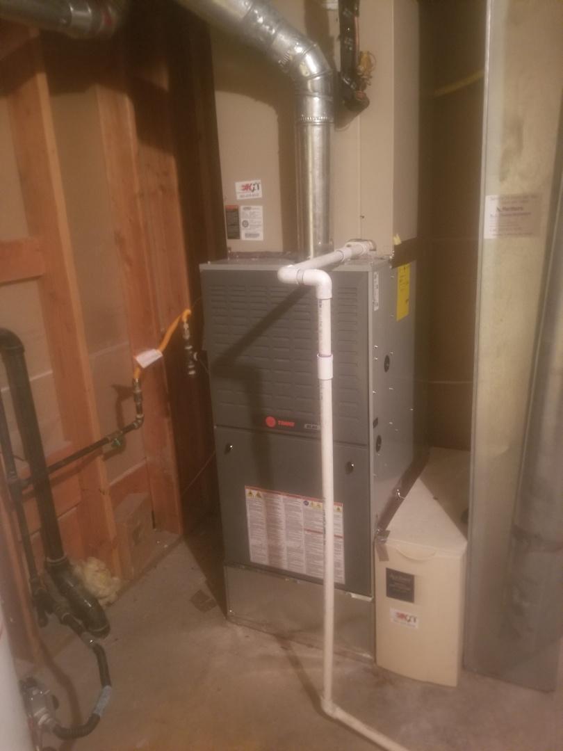 Louisville, CO - Install trane furnace