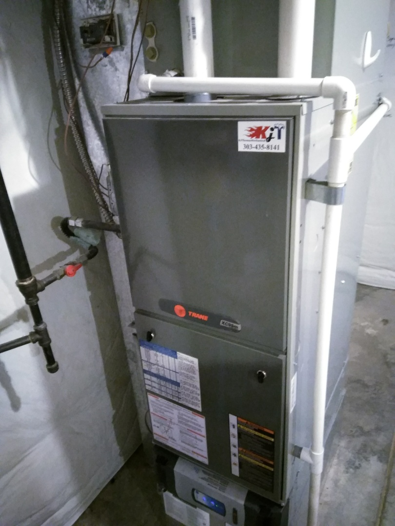 Longmont, CO - Performed furnace tuneup on Trane unit