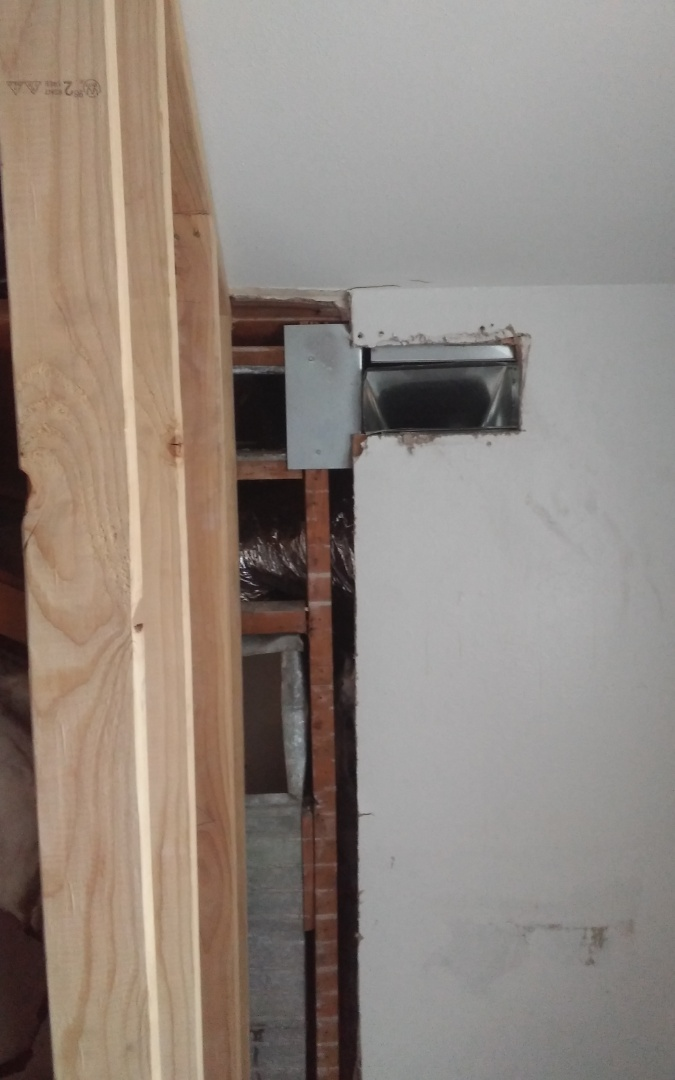 Boulder, CO - Move supply duct on a remodel