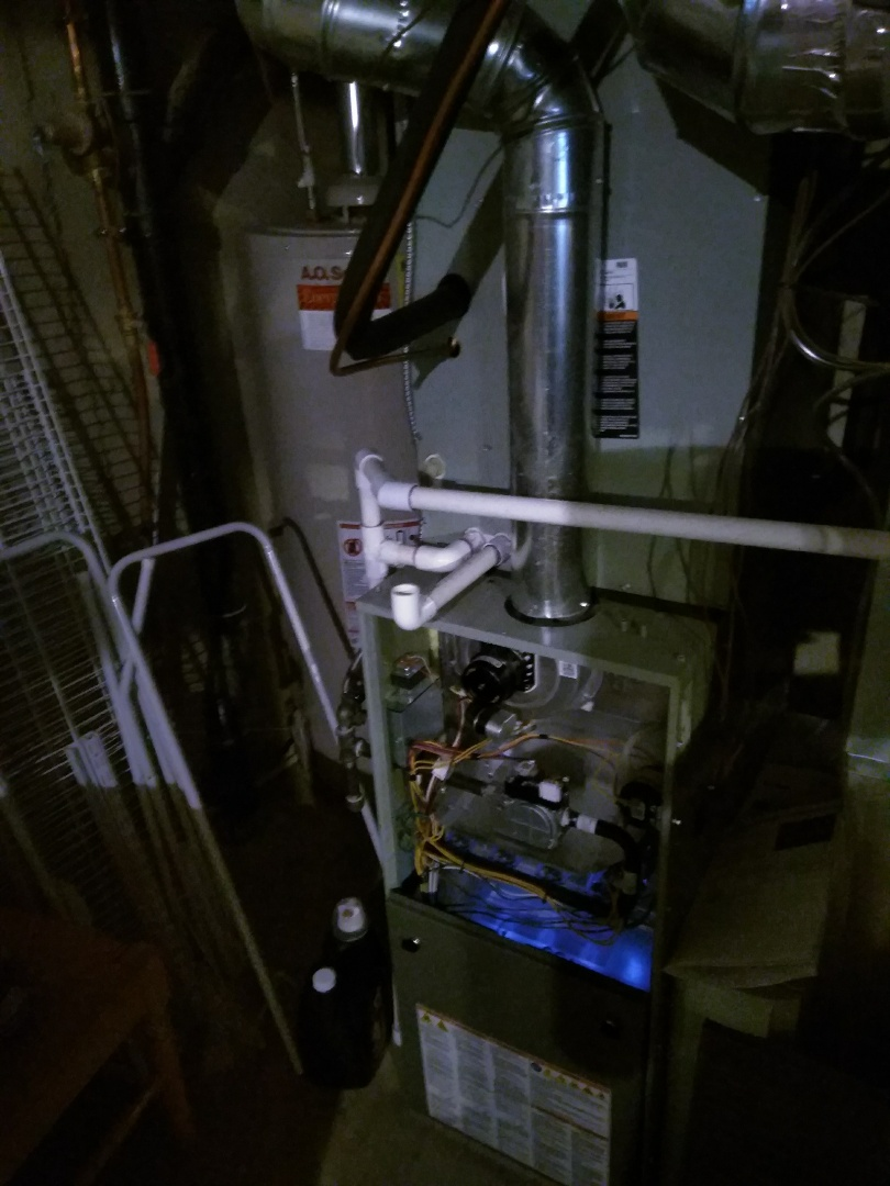 Erie, CO - Performed furnace tuneup on Trane unit