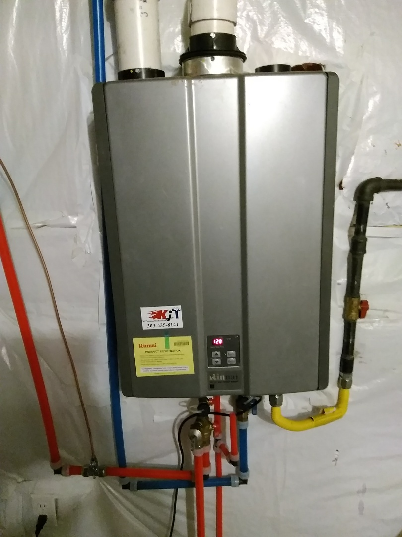 Boulder, CO - Performed tuneup on Rinnai water heater