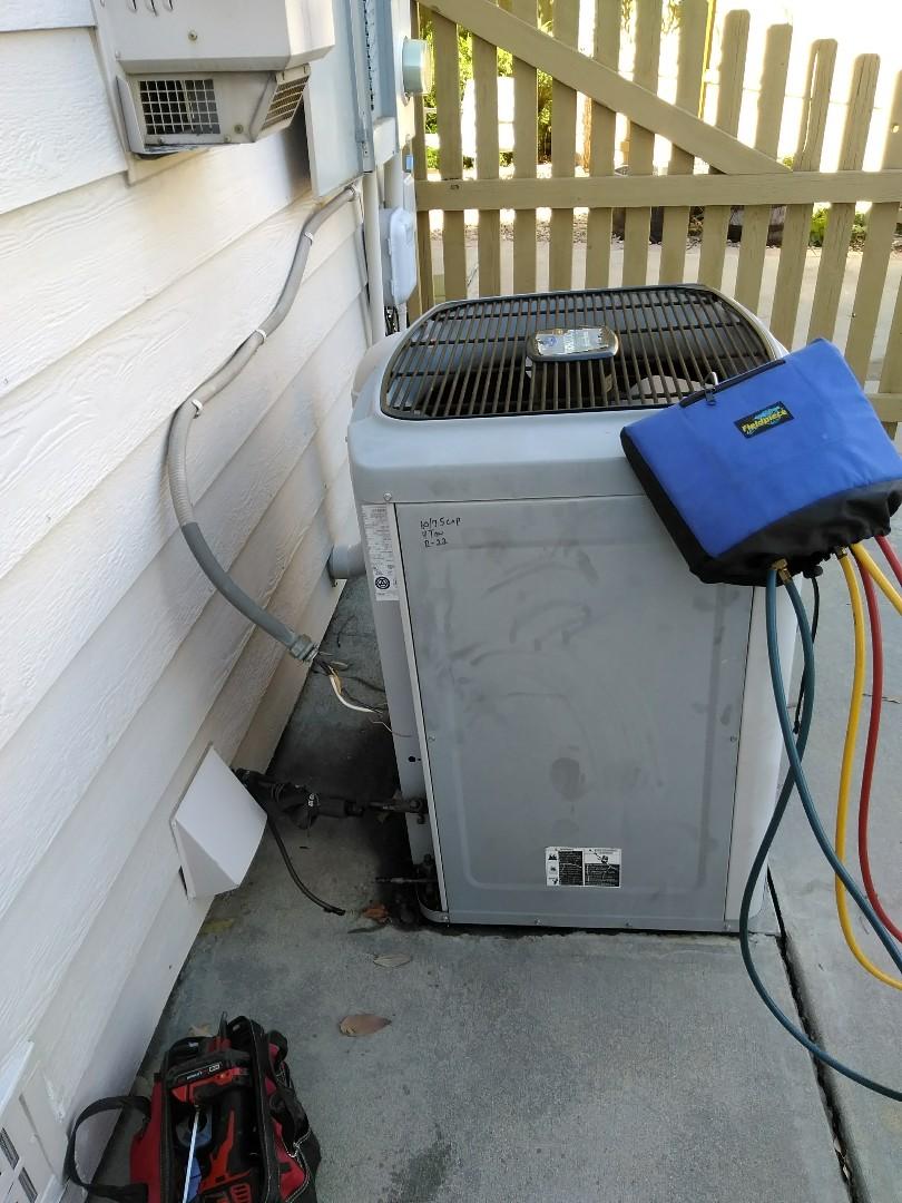 Boulder, CO - Performed AC maintenance on Carrier unit