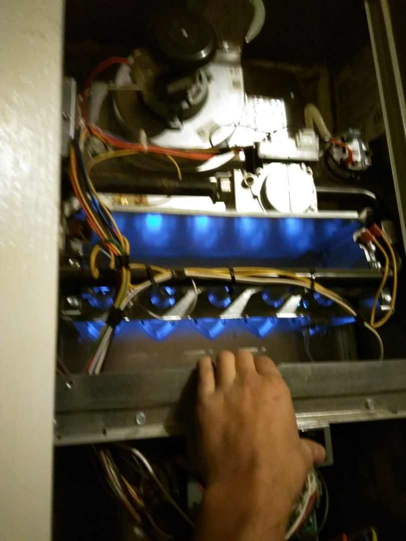 Broomfield, CO - Performed furnace tuneup on Trane unit