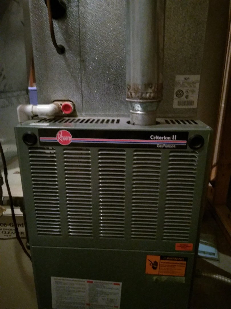 Erie, CO - Performed furnace tuneup on Rheem unit