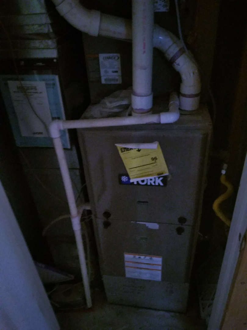 Longmont, CO - Performed furnace tuneup on York unit
