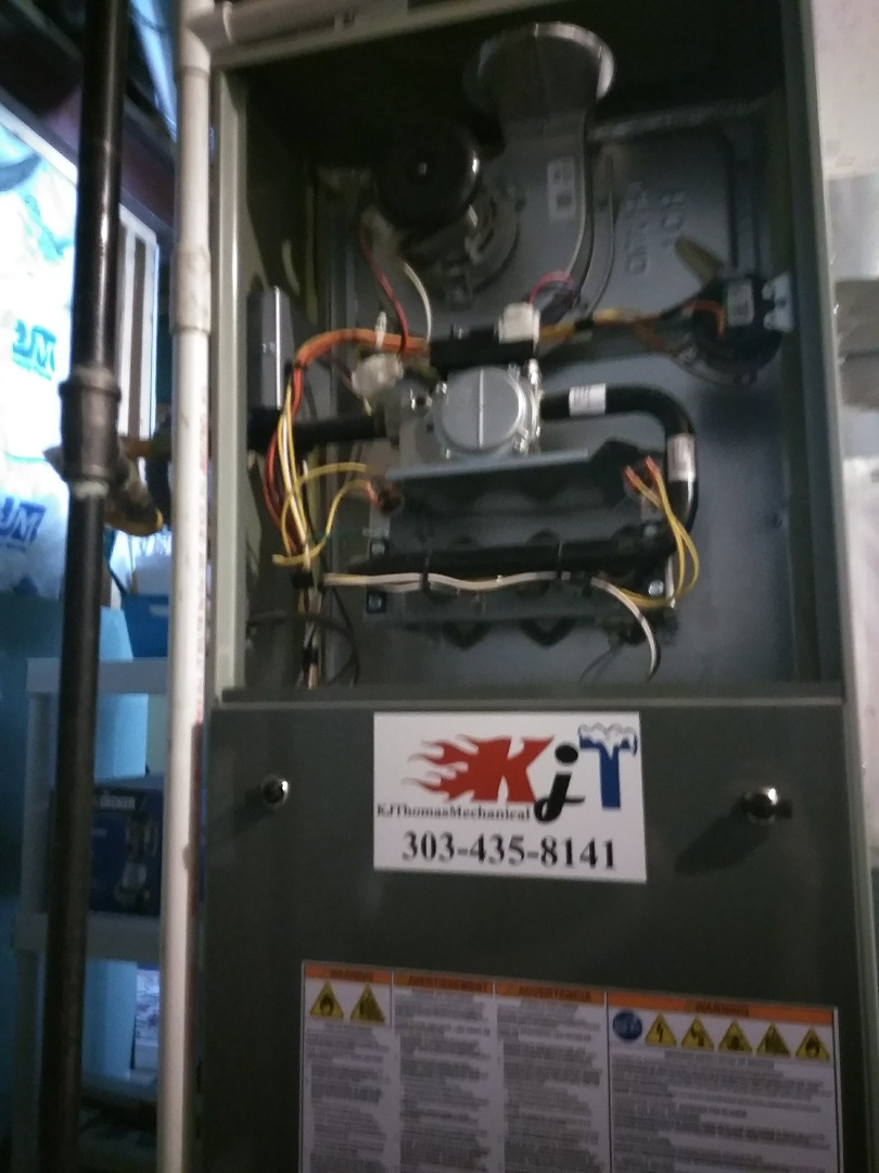 Boulder, CO - Performed furnace tuneup on Trane unit