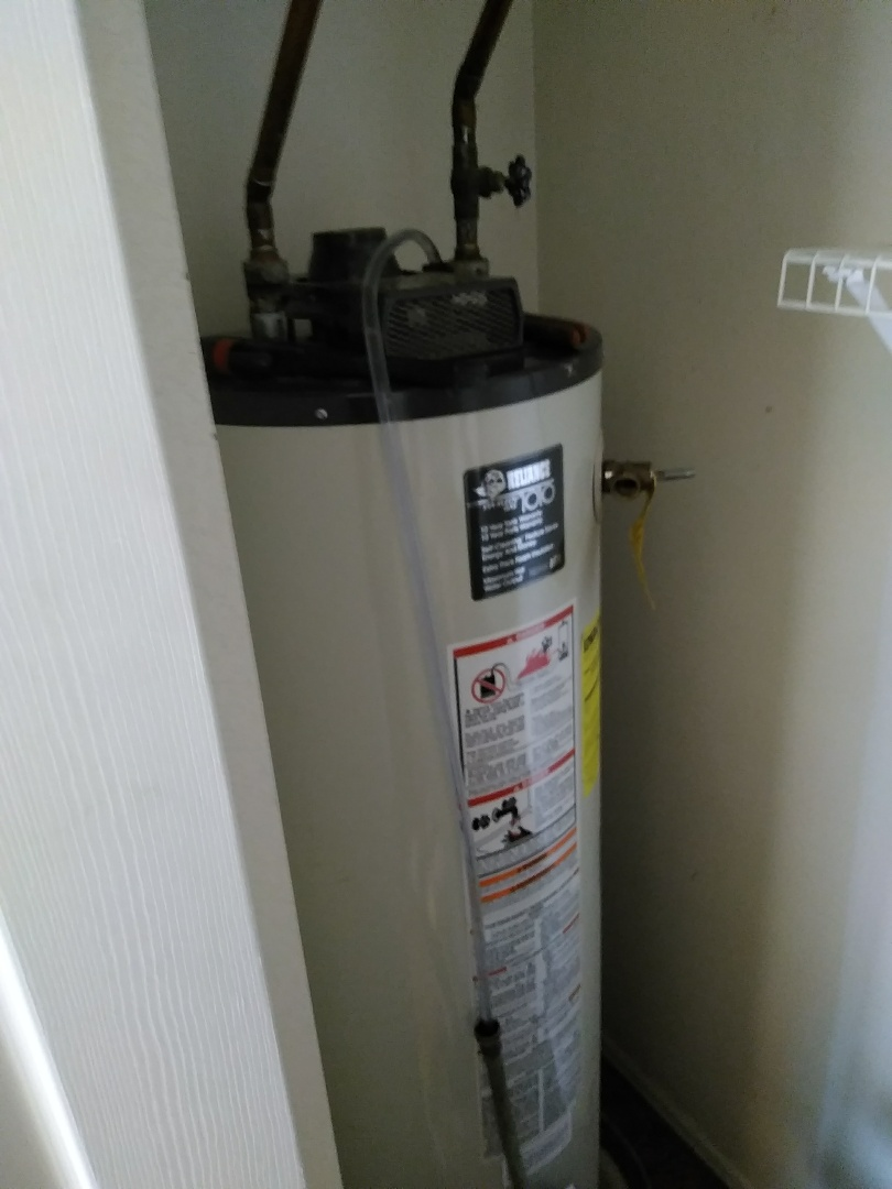 Longmont, CO - Performed water heater install on AO Smith unit