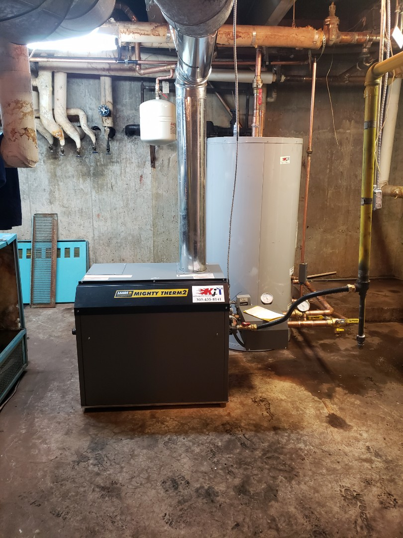Boulder, CO - Install laars boiler and hot water storage tank