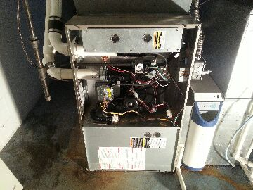 Gregory, MI - gas furnace-replacing heat exchanger