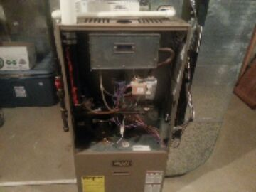Grass Lake Charter Township, MI - gas furnace-intermittent no heat