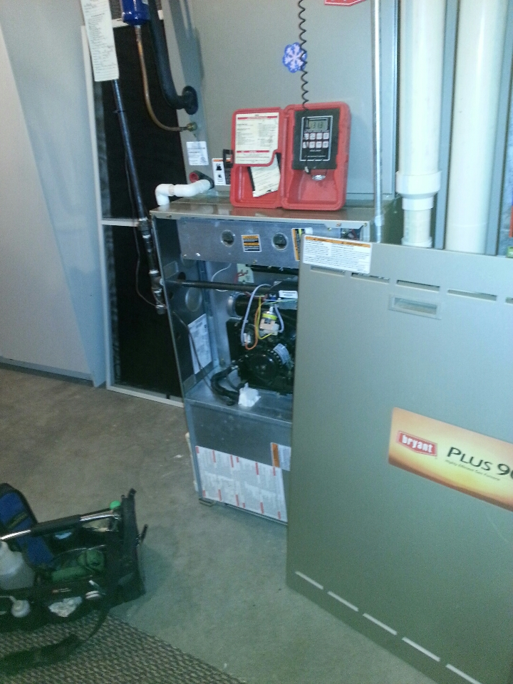 Grass Lake Charter Township, MI - Bryant Gas Furnace Tune Up.