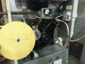 Howell, MI - gas furnace-no heat-combustion wheel bad