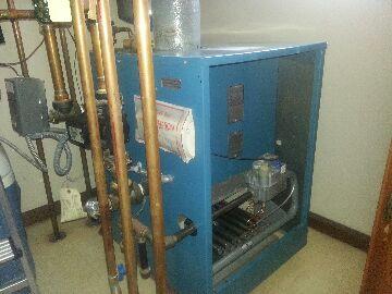 Pinckney, MI - cleaning gas boiler