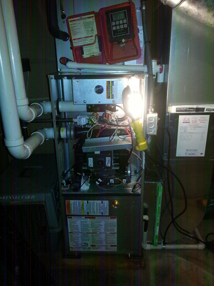 Pinckney, MI - Performed Clean & Check On Bryant Gas Furnace.