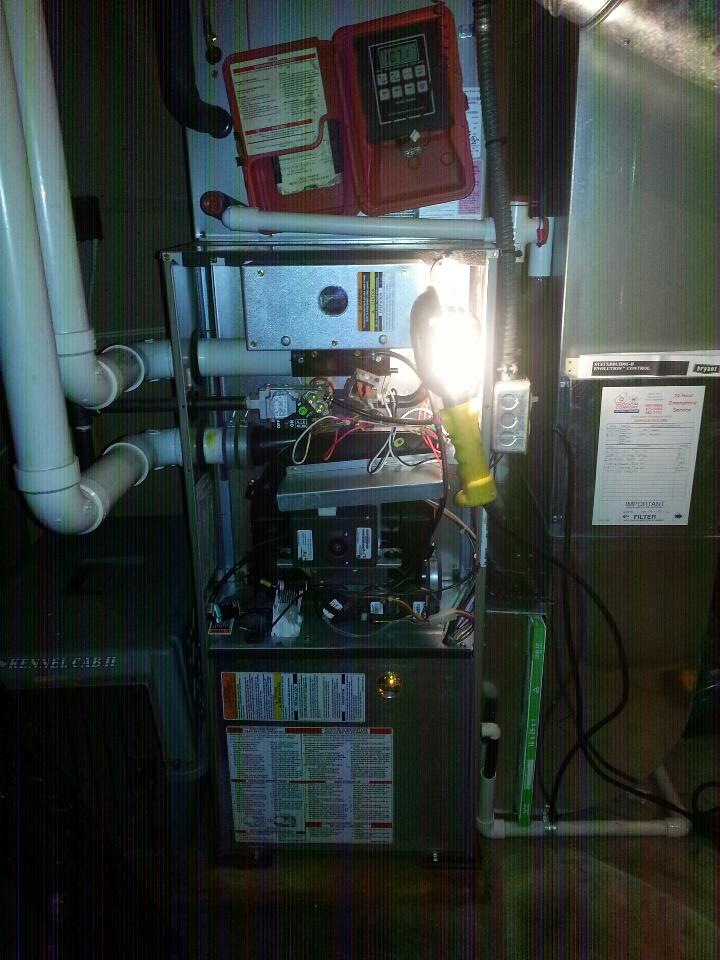 Pinckney, MI - Performed Clean & Check On Bryant Gas Furnace.