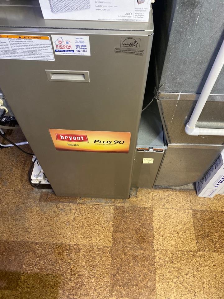 Ypsilanti, MI - Perform gas furnace tune up on system