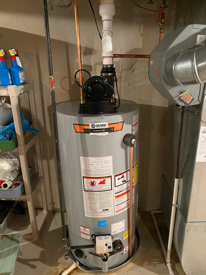 Canton, MI - Installed new power vent hot water tank