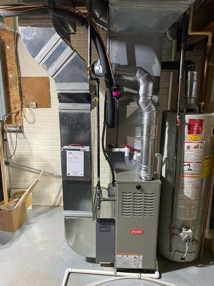 Saline, MI - Installed new gas furnace