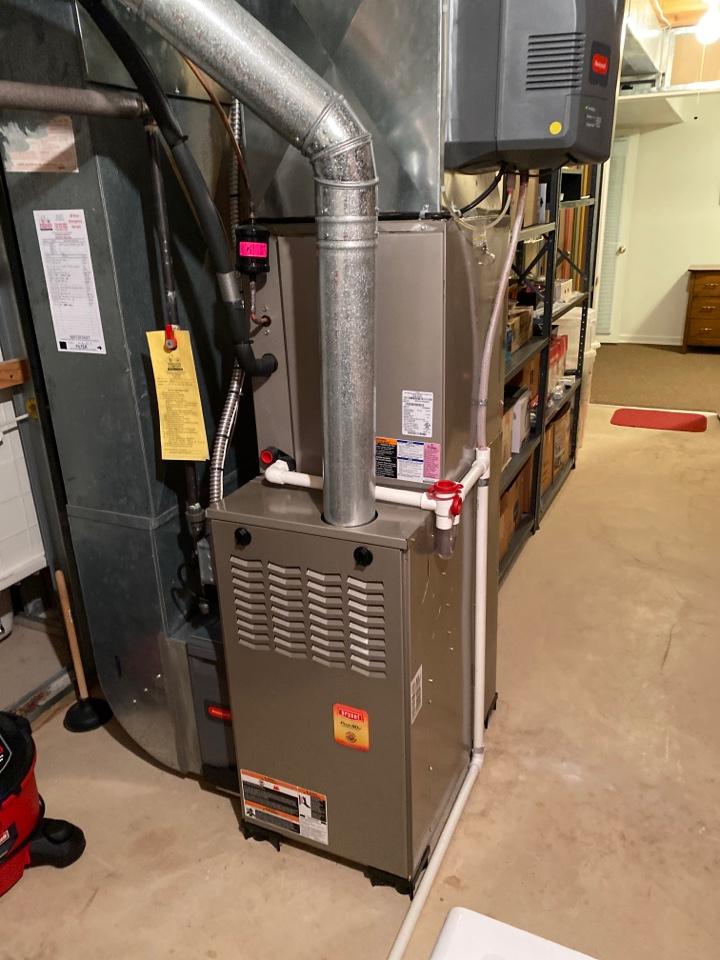 Ann Arbor, MI - No heat replace inducer
