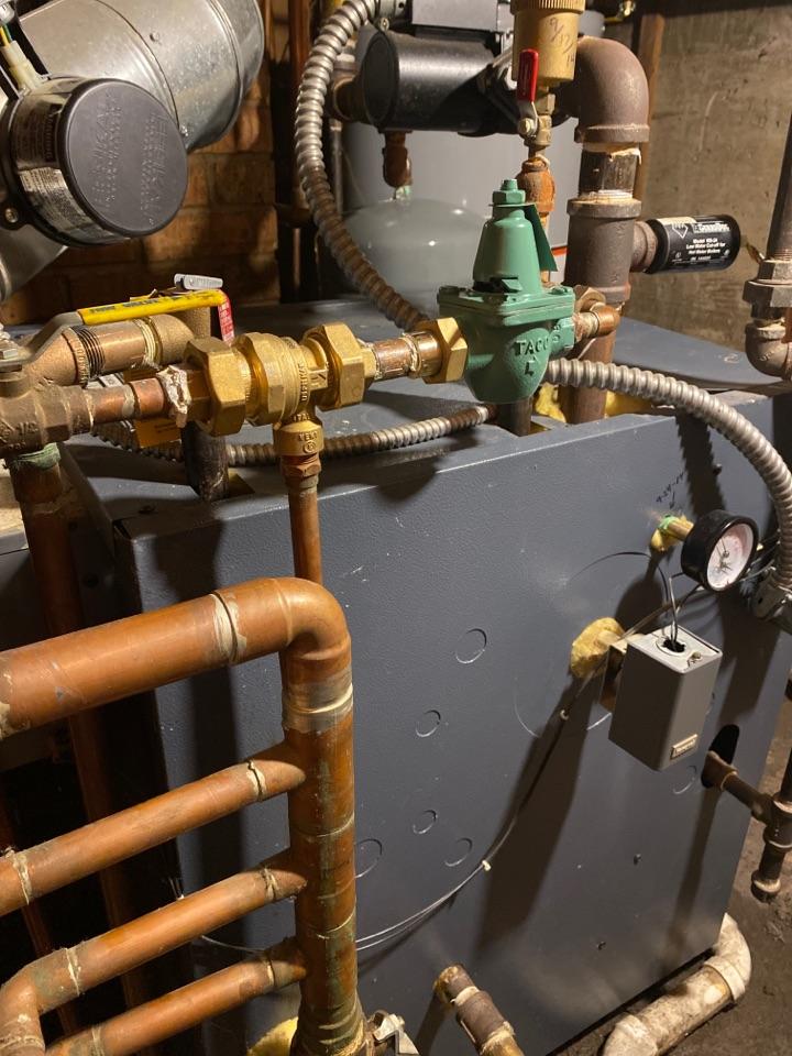 Ann Arbor, MI - Replaced backflow preventer and pressure reducing valve
