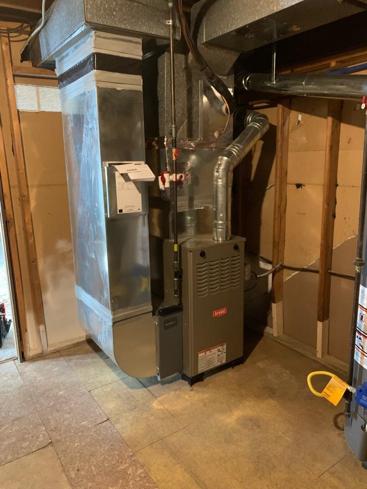 Gregory, MI - Install furnace