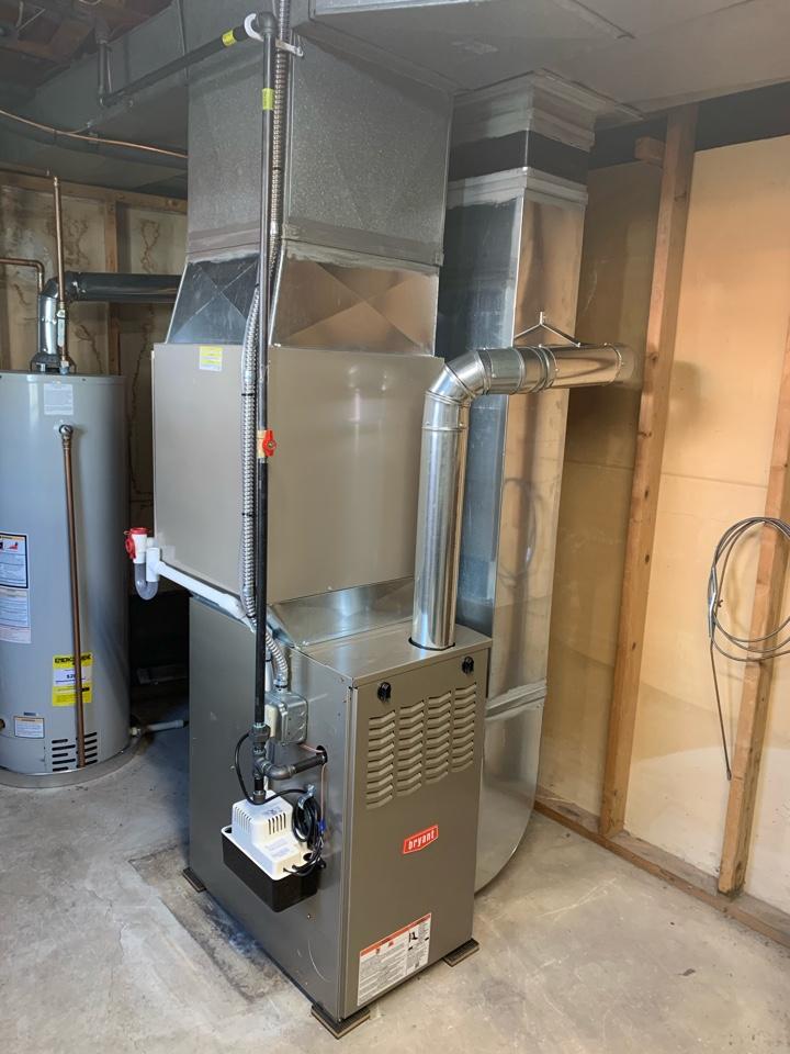 Ypsilanti, MI - Install furnace