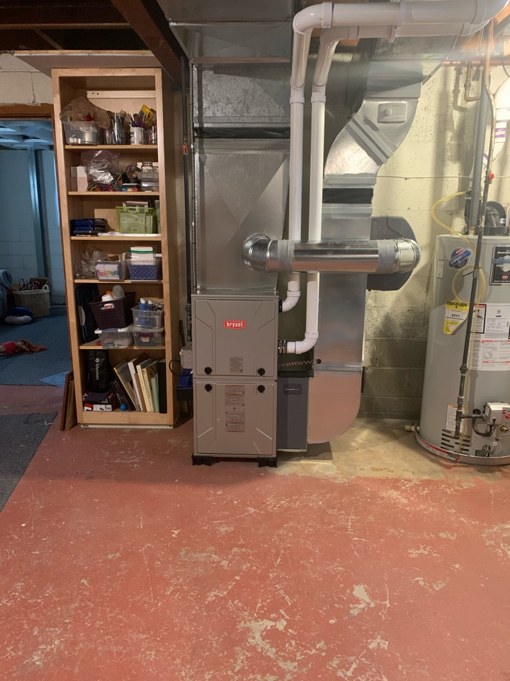 Ann Arbor, MI - Install furnace and humidifier