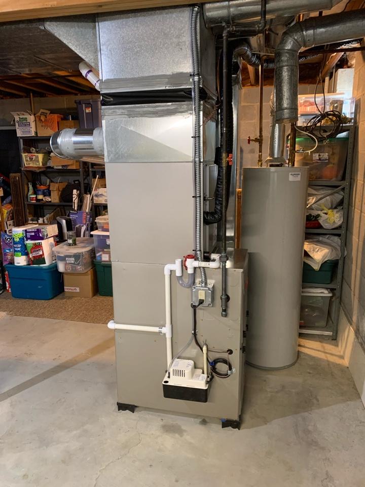 Ypsilanti, MI - Install furnace AC and humidifier