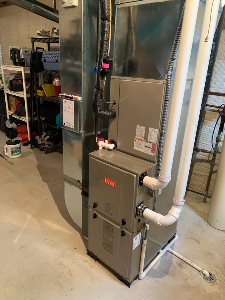 Dexter, MI - Install furnace, AC, water heater and humidifier