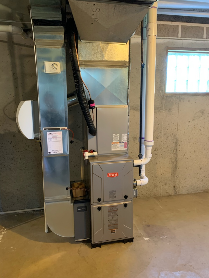 Install furnace and AC
