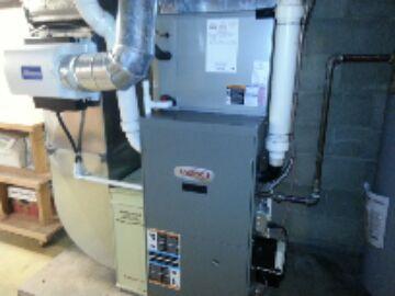 Pinckney, MI - gas furnace-cleaning