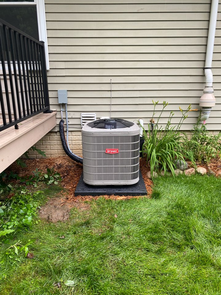 Manchester, MI - Install Bryant ac and furnace