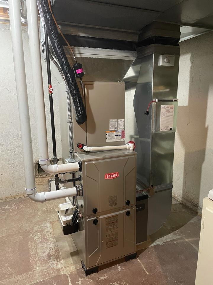 Ann Arbor, MI - Install furnace,AC and humidifier