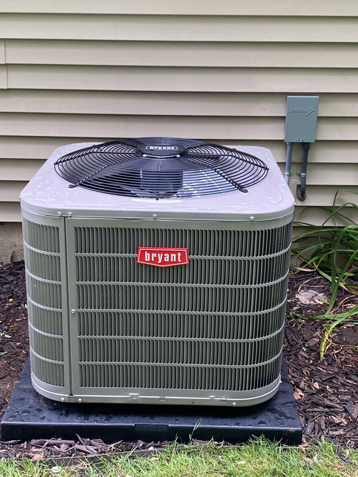Chelsea, MI - Installing Bryant ac and furnace