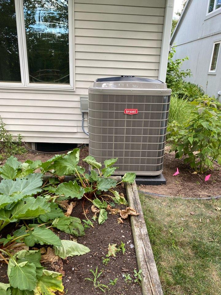 Air conditioner install!