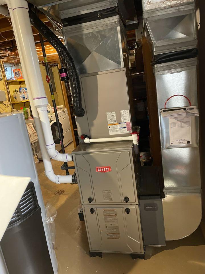 Ypsilanti, MI - Install furnace and AC