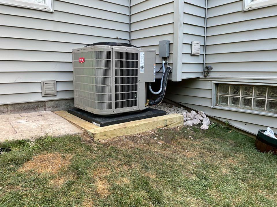 Ann Arbor, MI - Install furnace, AC and humidifier