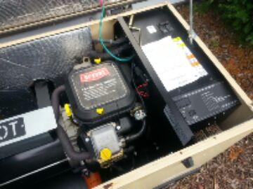 Pinckney, MI - generator-blown fuse