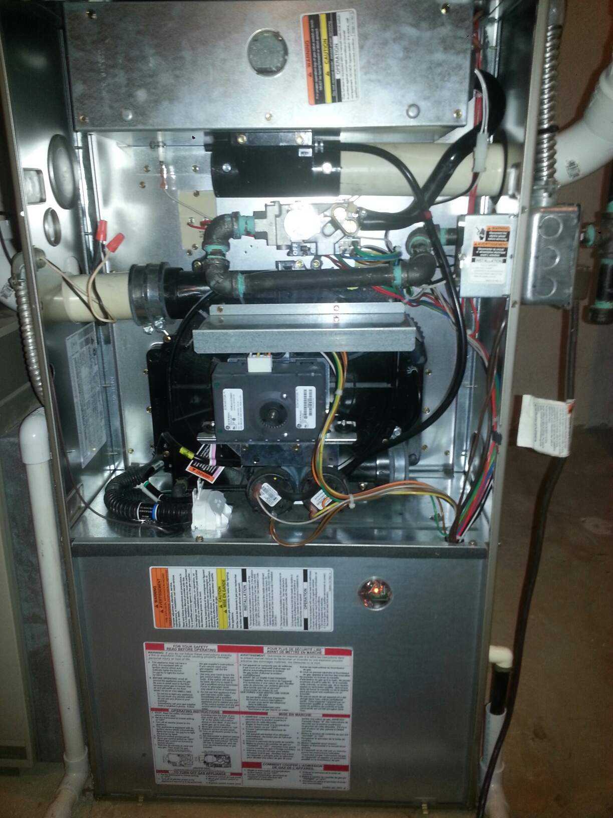 Belleville, MI - Furnace repair