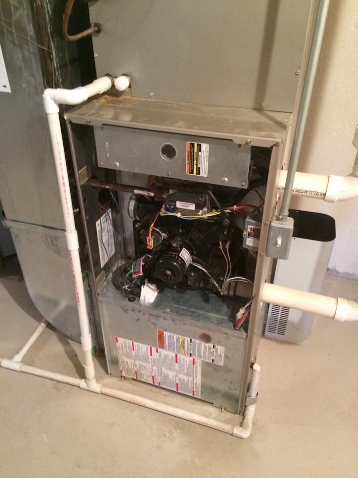 Canton, MI - Annual Furnace Maintenance. Bryant Unit.