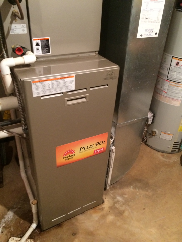 Plymouth, MI - Annual Furnace Maintenance. Bryant Unit.
