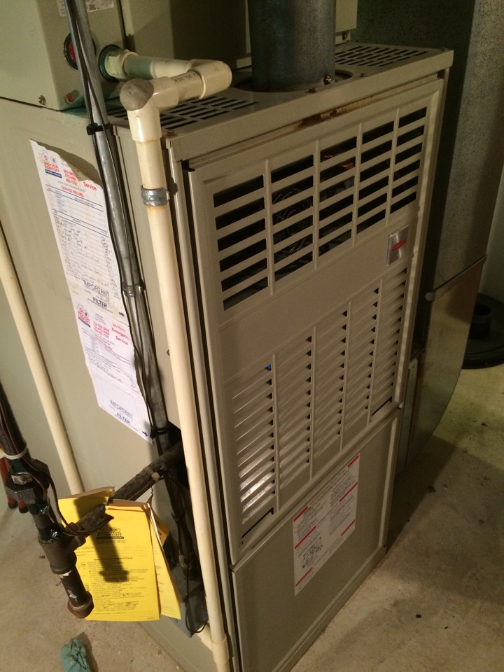 Brighton, MI - Annual Furnace Maintenance. Bryant Unit.