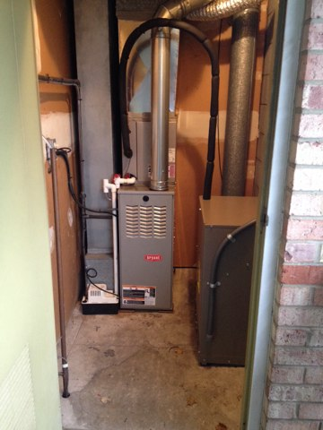 Grass Lake Charter Township, MI - Install 80% Bryant furnace and National Comfort AC.