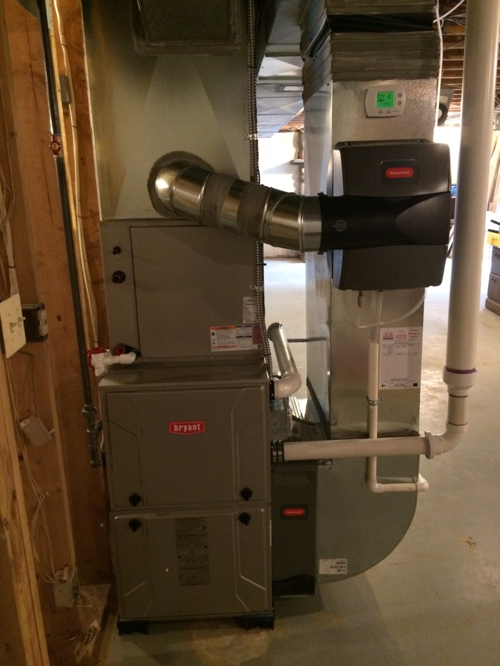 Gregory, MI - Furnace change out