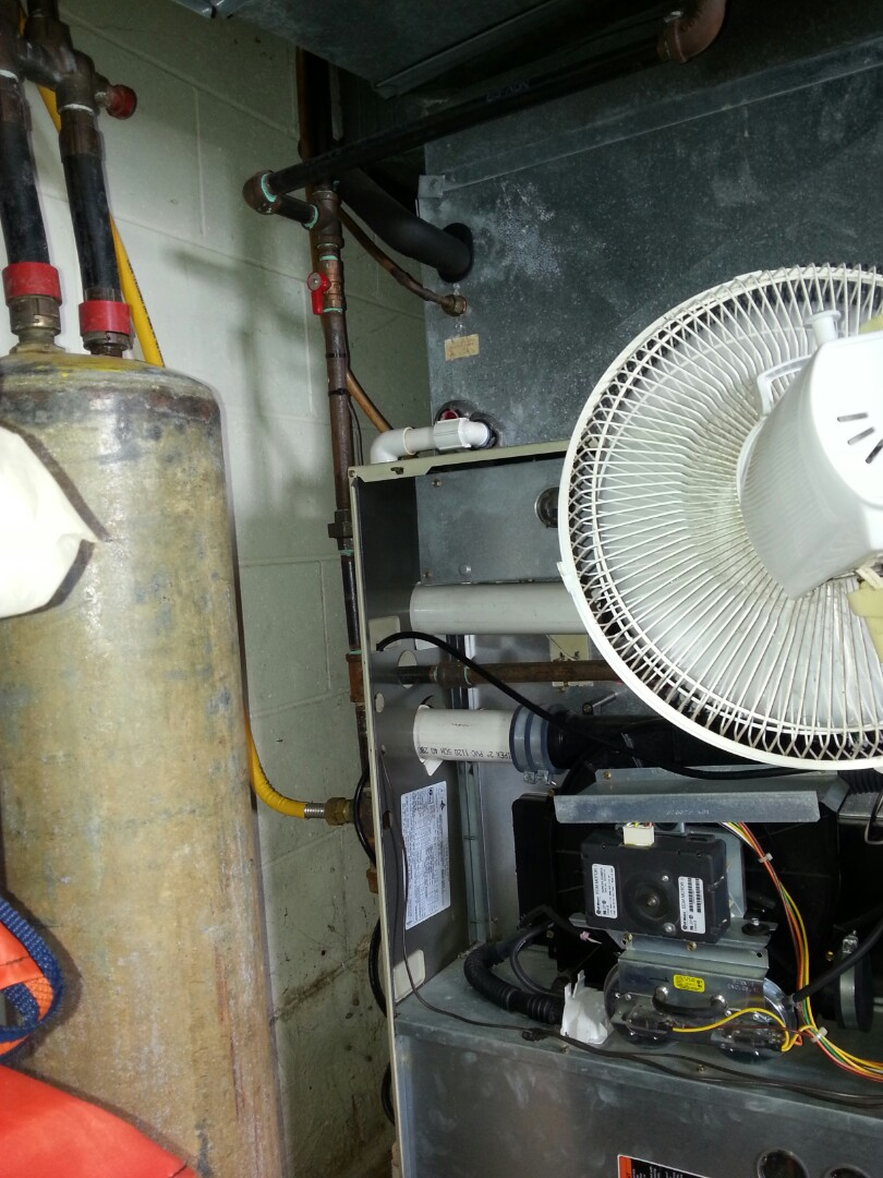 Manchester, MI - Perform furnace repair on Bryant system and sell new unit.
